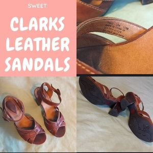 Clarks Artisan Leather Sandals